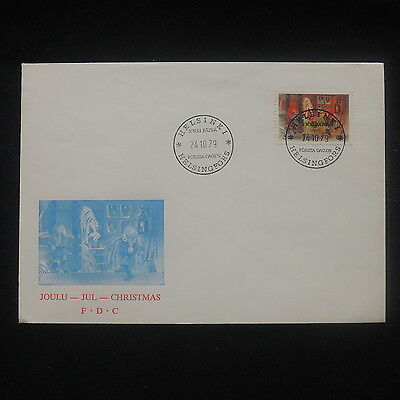 ZS-P239 FINLAND - Christmas, Fdc 1979 Cover