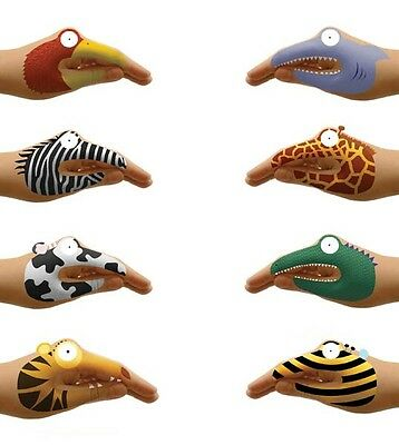 Animal Hands Temporary Tattoos Fun Novelty Gift Party Favour Hand Puppets