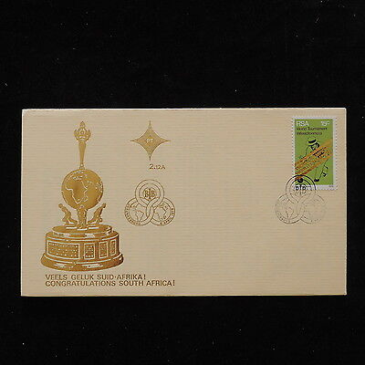 ZS-P882 SOUTH AFRICA IND - Sports, Bowls World Championship Fdc 1976 Cover