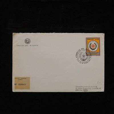 ZS-Q651 PARAGUAY - Cover, 1985 Great Franking To Switzerland