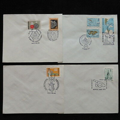 ZS-Q778 ARGENTINA - Covers, 1963 Great Franking