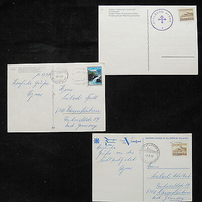 ZS-R337 NORWAY - Post Card, Nature, Landscape , Lot Of 3
