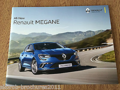 RENAULT - The All-New Megane Full Sales Brochure 7/2016