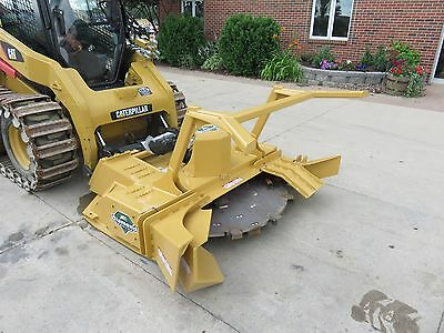 "Diamond 60"" Forestry Rotary Mulcher Skid Loader Attachment"