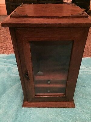 Antique Smokes /pipe Cabinet