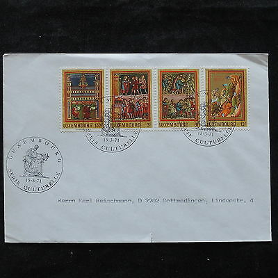 ZS-U438 LUXEMBOURG - Paintings, 1971, Religion, Serie Culturelle Cover