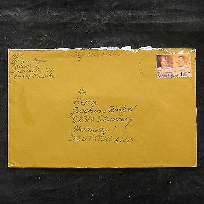 ZS-U627 FINLAND - Cover, Airmail To Germany