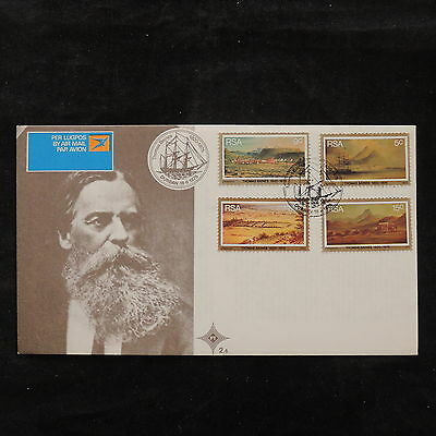 ZS-U650 SOUTH AFRICA IND - Landscapes, 1975, Durban Airmail, Thomas Baines Cover
