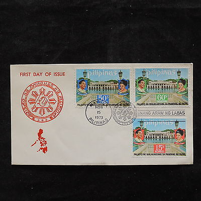ZS-U756 PHILIPPINES IND - Fdc, 1973, Monuments, Great Franking Cover