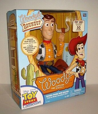 Toy Story Collection Woody New Sealed.