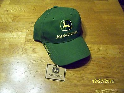 John Deere Youth Hat One Size Fits All NWT