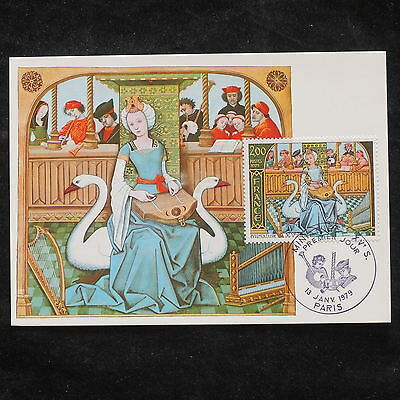 ZS-W741 FRANCE - Maximum Cards, 1979, Fdc, Paintings, Art, Great Franking
