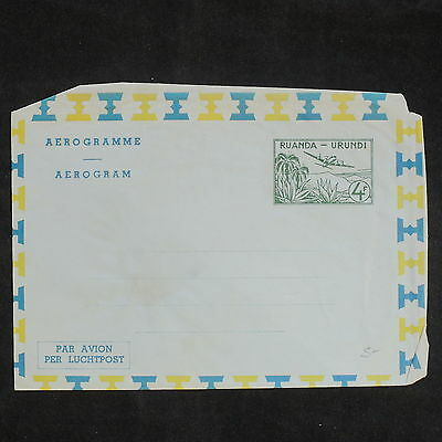 ZS-X799 RWANDA - Entire, Stationery, Mint, Great Airmail Cover