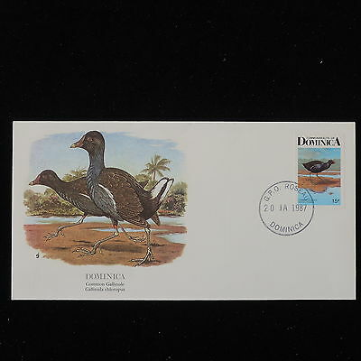 ZS-Y657 BIRDS - Dominica Ind, Domestic Animals, 1987 Great Franking Cover