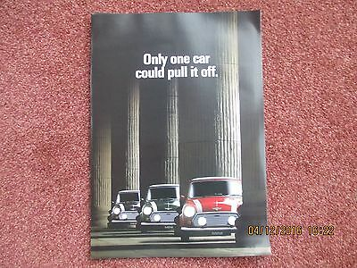 Mini 1.3 Cooper Limited Edition 1990 Foldout Sales Brochure