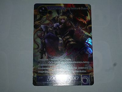 Force of Will Promo Card Dark Faria, Foil and signed by Eiji Shishido!