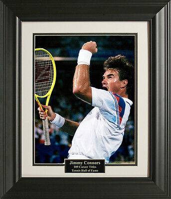 Jimmy Connors Photo Framed
