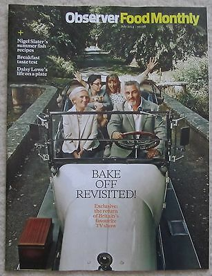 Bake Off Special - Observer Food Monthly magazine – 20 July 2014