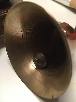 Antique Brass/Ebony Bell