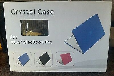 laptop case protector crystal case15'6 new boxed