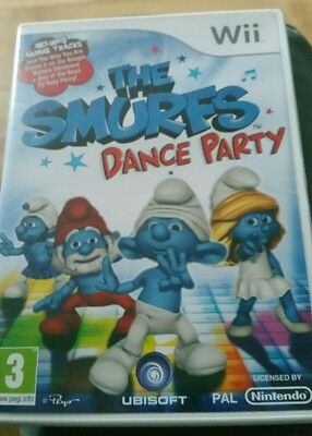 wii smurf dance party