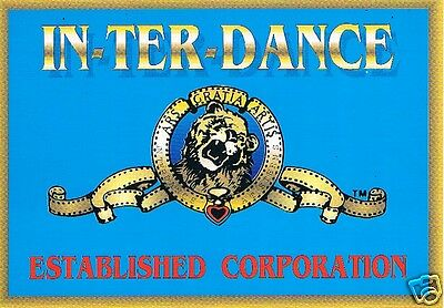 IN-TER-DANCE Rave Flyer Flyers 6/3/93 A5 Sterns Worthing