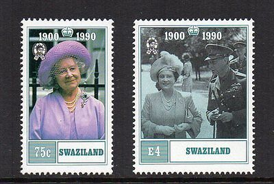 Swaziland - 90th Birthday of the Queen Mother (1990) MNH
