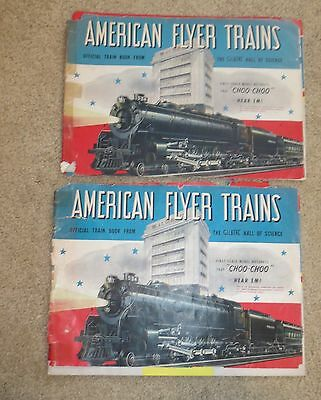 Two Oringal 1942 Gilbert American Flyer Catalogs