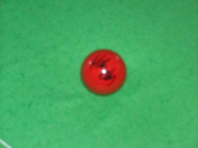 'The Jester From Leicester' Mark Selby World Champion Signed Red Snooker Ball