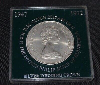 British 1972 Silver Wedding Crown Uncirculated
