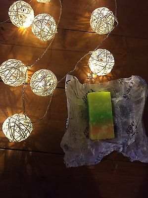 Lush Cosmetics Kitchen Northern Lights Soap 100g. Never Used.