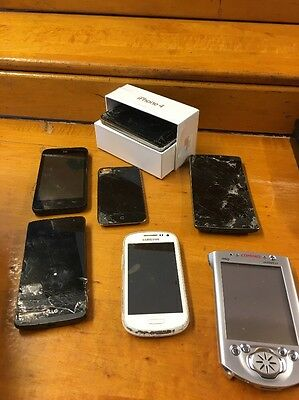Lot Of Smart Phones For Parts- Untested