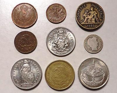 World Coins With Silver  Lot Of 18