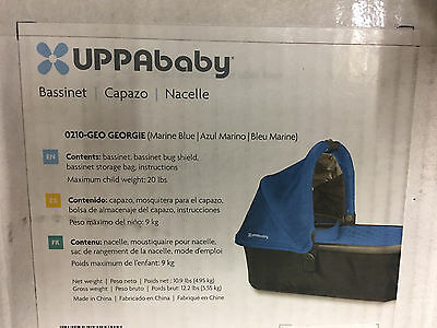UPPAbaby Universal Bassinet for Vista & Cruz Strollers George - NEW