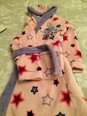 disney dressing gown 5-6 Years