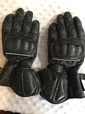 Vented Motorcycle Gloves Schoeller Keprotec Large