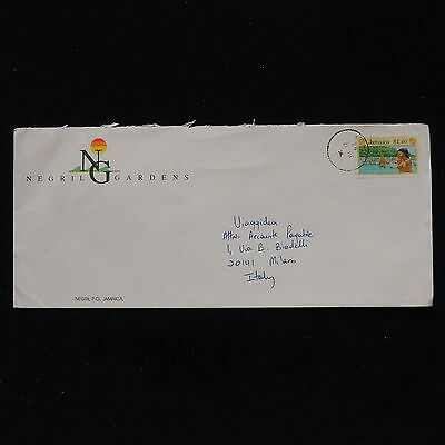 ZS-AB904 JAMAICA IND - Folklore, 1993 Airmail To Milan Italy Cover