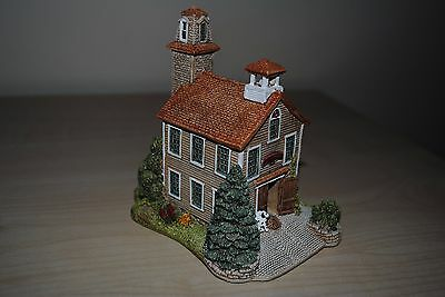 """Lilliput Lane """" Firehouse 1"""" with original box and deeds"""