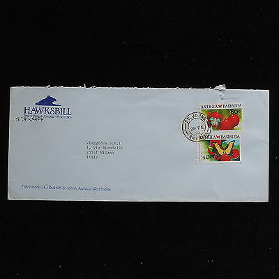 ZS-AC261 ANTIGUA & BARBUDA IND - Fruits, 1990 From St John'S To Milan Cover
