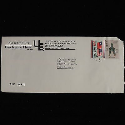 ZS-AC562 TAIWAN - Airmail, From Taipei To Nordlingen Germany Cover