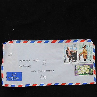 ZS-AC682 THAILAND - Airmail, 1982 To Cirie Italy Cover