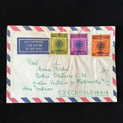 ZS-AC985 IRAQ - Airmail, 1958 To Czechoslovakia Cover