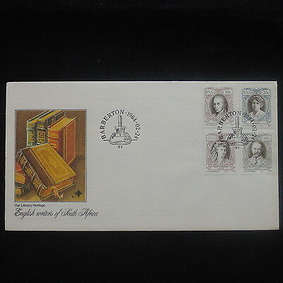 ZS-P180 SOUTH AFRICA IND - Fdc, English Writers 1984 Cover