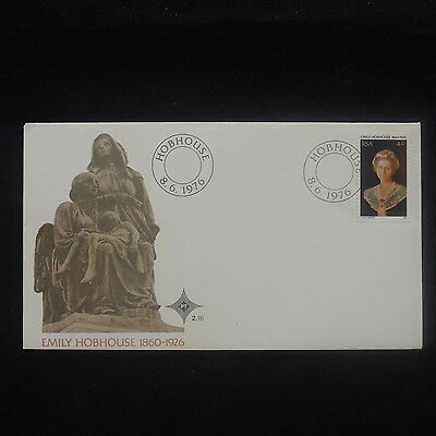 ZS-P219 SOUTH AFRICA IND - Fdc, Famous People, Emily Hobhouse 1860-1926 Cover