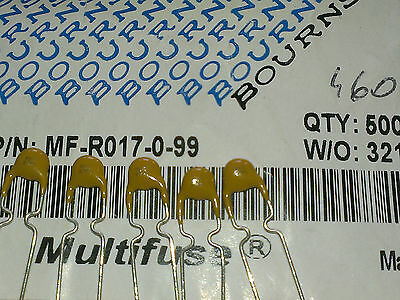 [50 pcs] Bourns 0,17A(170mA)  Resettable Fuse (Multifuse) 60V MF-R017