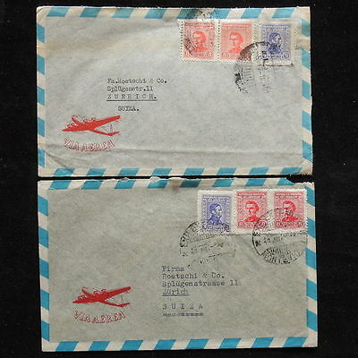 ZS-Q736 URUGUAY - Covers, Lot Of 2 Different