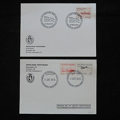 ZS-R404 GREENLAND - Covers, 1974-1976 Ships, Airplanes