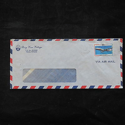 ZS-T483 BAHAMAS IND - Aviation, Airmail Postage Cover