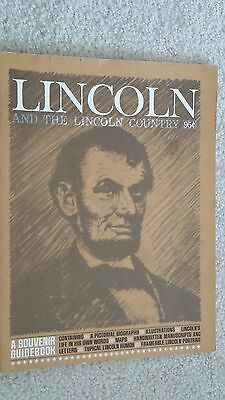 Lincoln And The Lincoln Country - A Souvenir Guidebook (1968)
