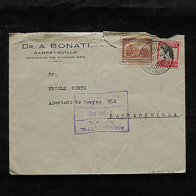 ZS-T819 COLOMBIA - Cover, Bogota To Barranquilla 1932